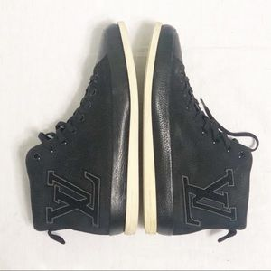 Authentic Louis Vuitton Fastball Hightop Sneakers